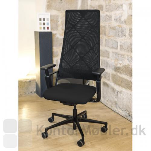 Connex2 konferencestol med netryg