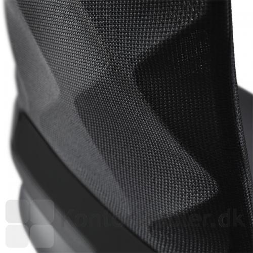 Connex2 kontorstol med flot sort netryg