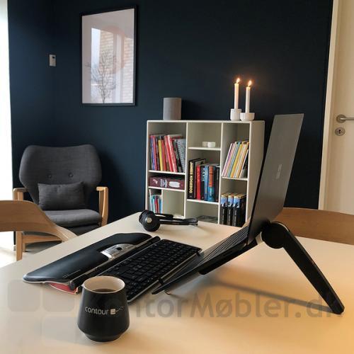 Contour Travel Kit trådløs arbejdsplads, perfekt til de dage man arbejder hjemme