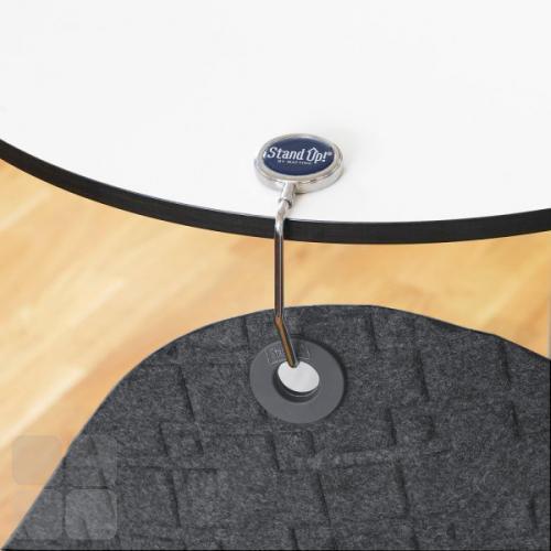 Bordkrog som gør det nemt at hænge StandUP på kanten af et bord.