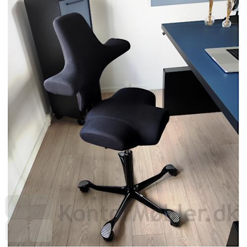 HÅG Capisco 8106 Kontorstol en af de mest populære kontorstole, både til hjemmearbejdspladsen og på kontoret.