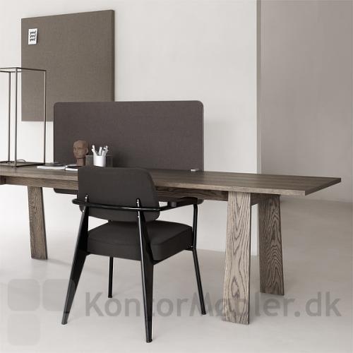 Edge bordskærm, frontmonteret til hjemmekontoret