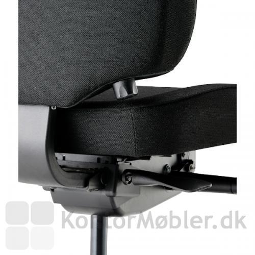 Lanab 6330 ergonomisk korrekt kontorstol
