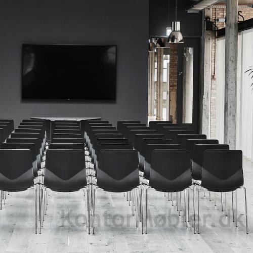 Four Sure kantinestol kan også bruges til foredrag