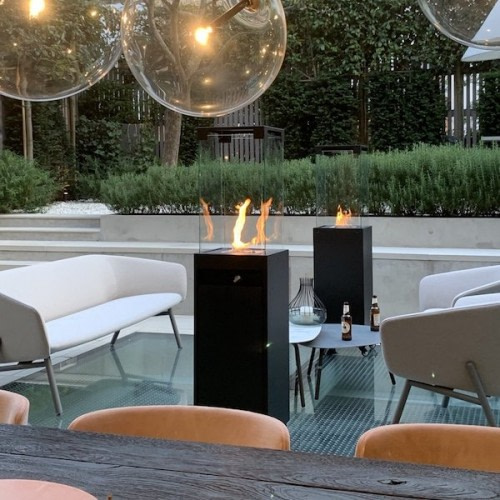 Skab en hyggelig stemning med Faro terrassevarmer
