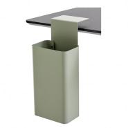 Papirkurv i elegant design til skrivebordet