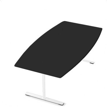 Delta konferencebord i linoleum / Nano