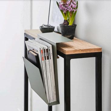 APTO katalog og tidsskrift hylde til skrivebord