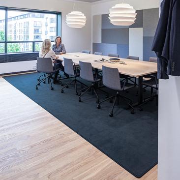 Blødt kontortæppe rektangulært - Epoca Moss