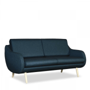 Hana retroinspireret sofa i organisk design