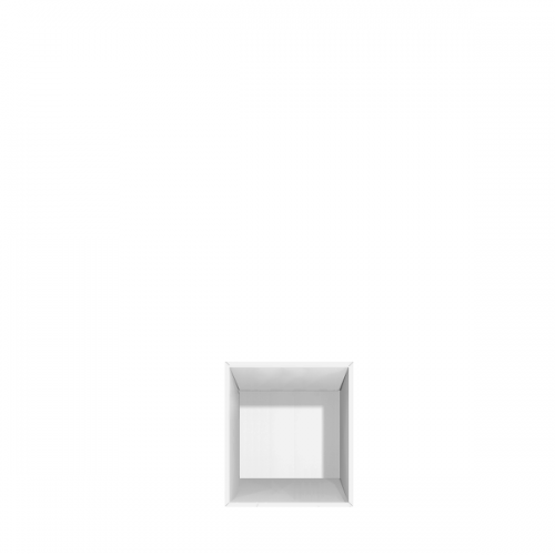 Bogkasse med 1 rum