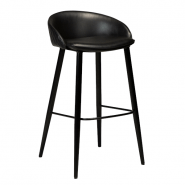 Dan-Form Dual barstol med ryglæn
