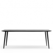 Babila mødebord i sort 240x100 cm