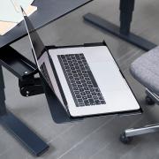 Foldbar laptopholder til skrivebordet