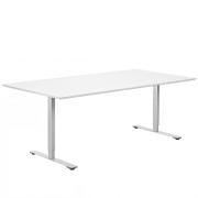 Call center bord i hvid nano