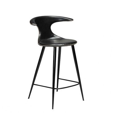 Flair Barstol med lædersæde