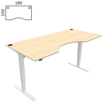 Conset hævesænke bord i ahorn