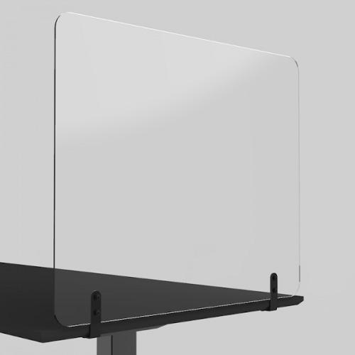 Fastmonteret smitteafskærmning i plexiglas