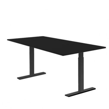 5 stk. sort hæve sænkebord
