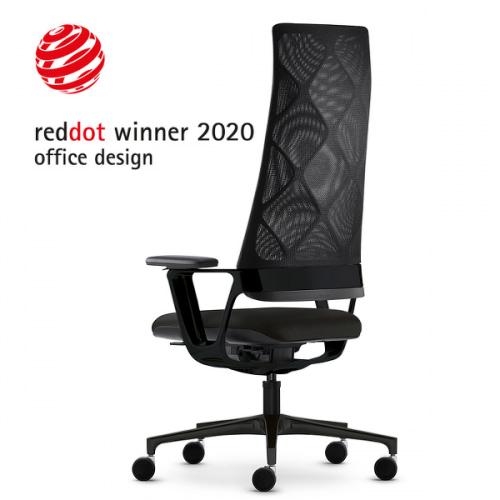 Connex2 chef kontorstol med høj netryg