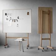 Wood mobil whiteboard