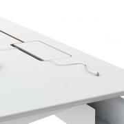 Kabelluge med slids - tilbydes kun på farvede laminat, linoleum og nano