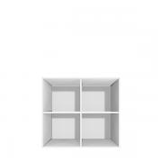 Skab med 4 rum