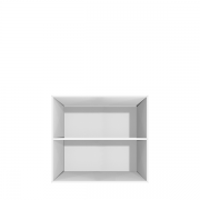 Lille reol til gulv eller vægophængt