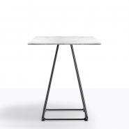 Lunar marmor cafébord