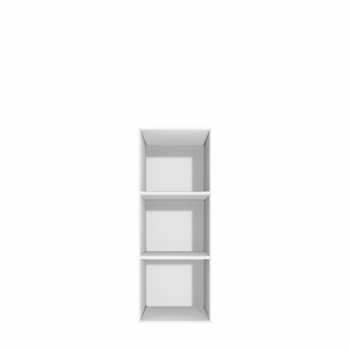 Smalt skab med 3 rum