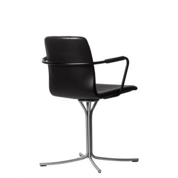 Lehm EPIC SLIM mødestol med armbøjle