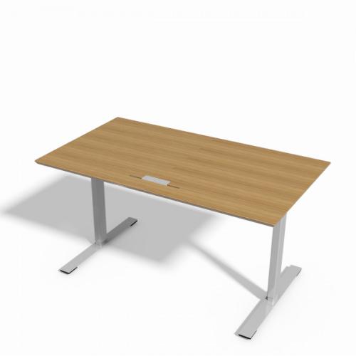 Delta hæve-sænke bord i eg finér