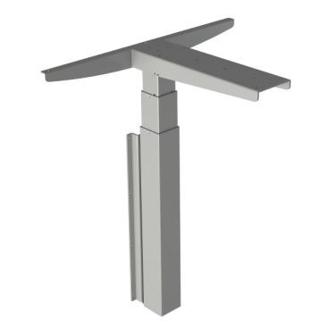 Delta enkel søjle stel - vægmonteret