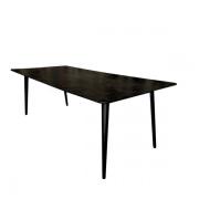 Pheno sortbejdset mødebord