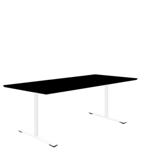 Delta mødebord i linoleum / Nano