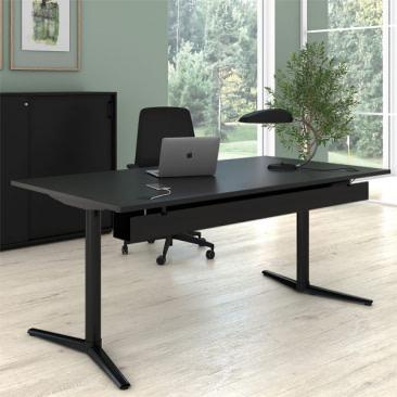 Switch Design hæve-/sænkebord i linoleum