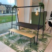 A-frame miljøbord m/bænk