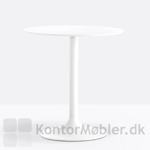 Dream cafébord med hvid bordplade og hvid stel