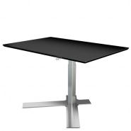 Delta enkelt-søjlet hæve sænke bord