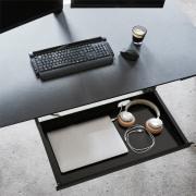 Athene laptopskuffe med lås
