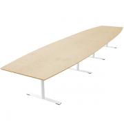 Delta tre-delt bord i finér