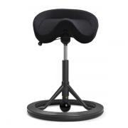 Back App 2.0 sort kontorstol uden ryg