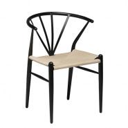 Delta fletstol - sort eller hvid