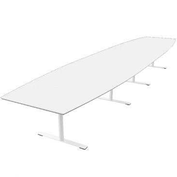Delta tre-delt bord i laminat