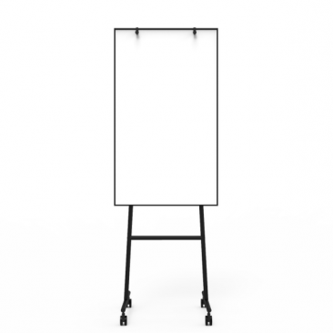 ONE Mobil whiteboard med flipover