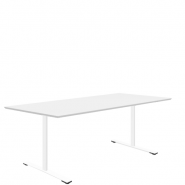 Delta mødebord i laminat