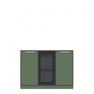 Lav bred rumdeler med 6 rum