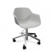 FourMe 66 mødestol på hjul