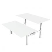 Delta dobbelt hæve sænke bord