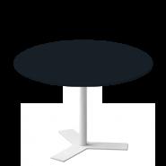 Delta rundt mødebord i linoleum / Nano
